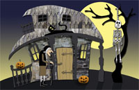 Halloween11 Greeting Card (55x85)